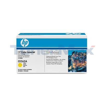 HP COLOR LASERJET CP4025 PRINT CARTRIDGE YELLOW GOV
